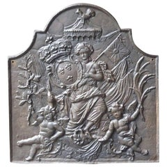 French 'Arms of France' Fireback