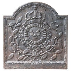 17th-18th Century French 'Arms of Lorraine' Fireback