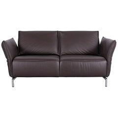 Koinor Vanda Two-Seat Sofa Brown Leather Function