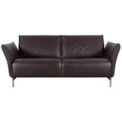 Koinor Vanda Three-Seat Sofa Brown Leather Function