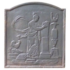 19th Century French Neoclassical 'Allegory of the Human Rights' Fireback
