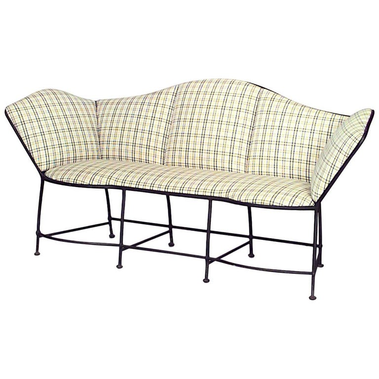 Outdoor French Provincial Iron Loveseat For Sale - Outdoor French Provincial Iron Loveseat For Sale At 1stdibs