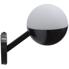 Perla Satinato Black Nickel Wall Sconce