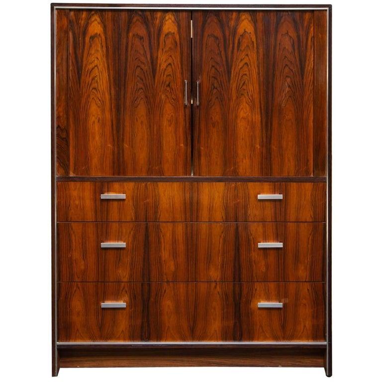 Danish Modern Falster Rosewood Tall Dresser
