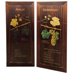 Pair of Antique Wine Panels or Doors