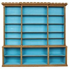 Stripped Oak Reform Movement Bookcase