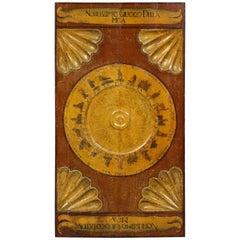 18th Century Italian Gaming Board
