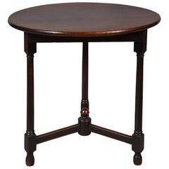 Georgian Mahogany Cricket Table