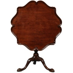 George II Birdcage Tilt-Top Table