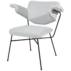 Light Grey Urania Chair Studio BBPR for Arflex, 1954
