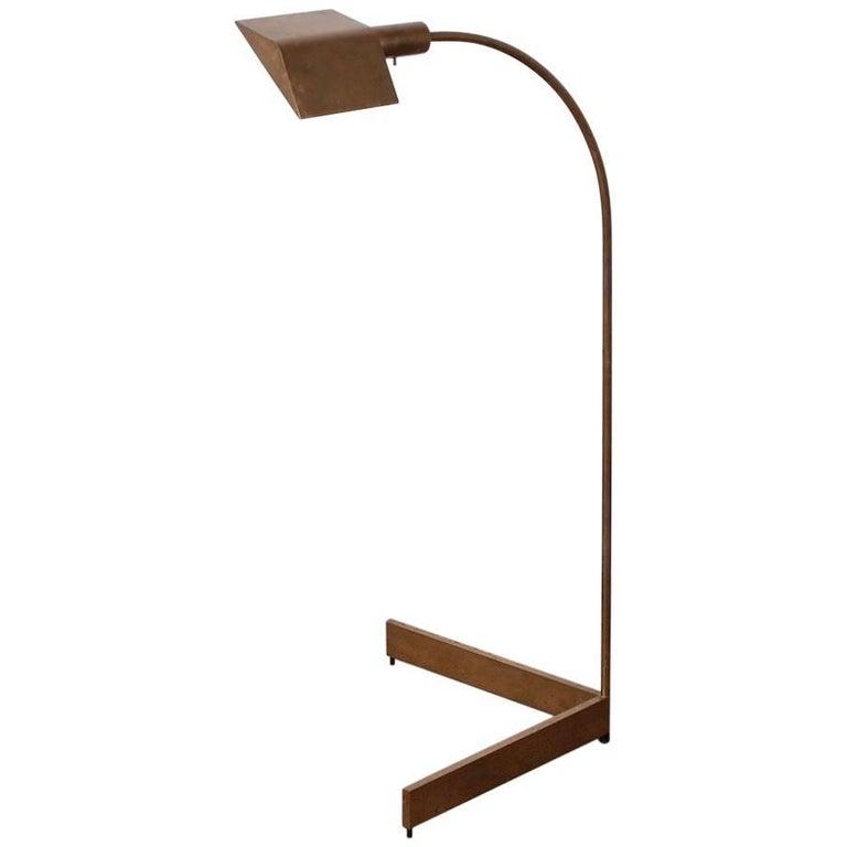 Brass Floor Lamp by Cedric Hartman