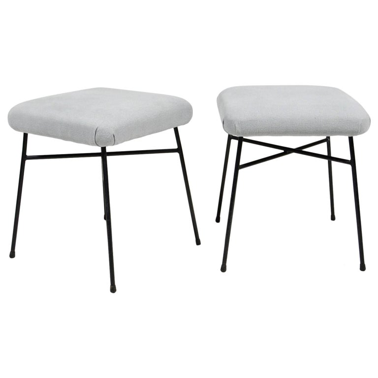 Light Grey Elettra Stools Studio BBPR for Arflex, 1954