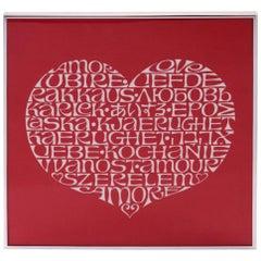 Alexander Girard International Love Heart Textile