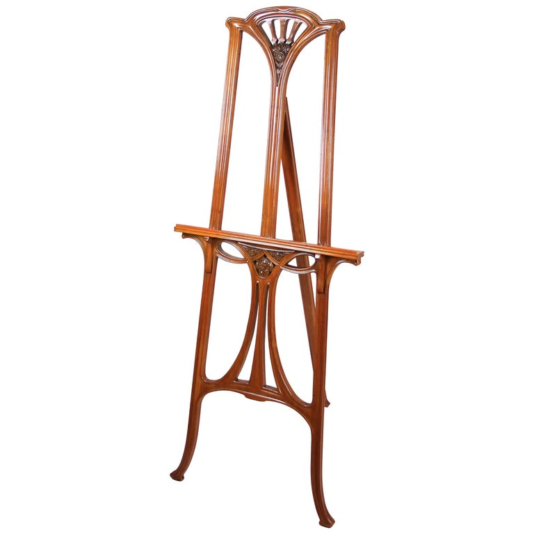 Art Nouveau Easel or Painting Stand, Austria, circa 1900