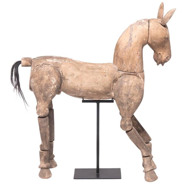 Early 20th Century Burmese Horse Puppet