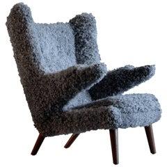 Hans J. Wegner Papa Bear Easy Chair, 1950s