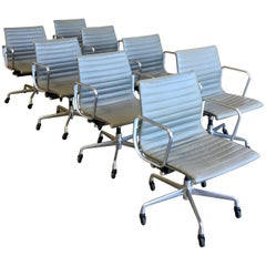 Eames Aluminium Group Management Chairs for Herman Miller