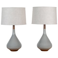 Pair of Miller Lamps by Stone and Sawyer for Lawson-Fenning