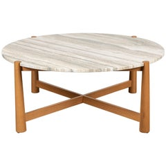 Round Bronson Coffee Table by Lawson-Fenning