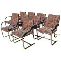 Knoll Brno Chairs Set of Ten Magnet Tested