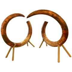 Mammoth Tusk Set of Two King-Size