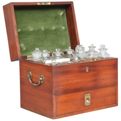 19th Century Mahogany Apothecary Box