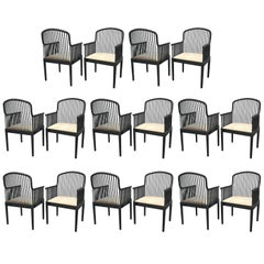 Set of 16 Armchairs Andover by Davis Allen for Montina