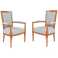 1930s French Occasional Chairs by André Arbus