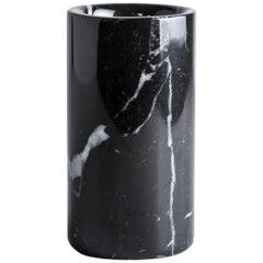 Black Marquina Marble Utensil Holder