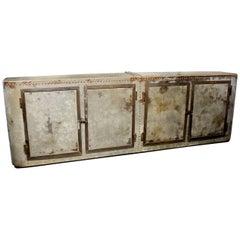 Vintage Steel Shop Cabinet