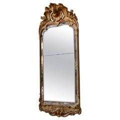 Swedish Antique Rococo Mirror Stockholm, circa 1760