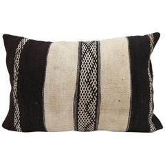 Moroccan Kilim Pillow  Vintage Morocco Cushion