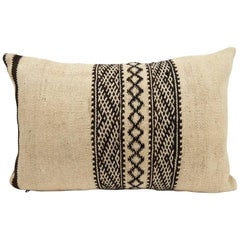 Decorative pillow  Moroccan Pillow  Vintage Kilim Cushion from Morocco