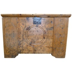 Engraved and Decorated French Chest, 18th Century