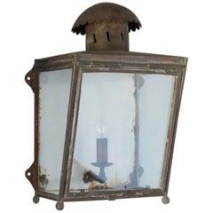 Copper LMS Wall Lantern