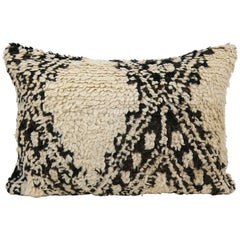 Moroccan Pillow from Morocco, Berber Cushion, Beni Ourain