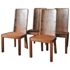 """Set of Four """"Lovo"""" Chairs by Axel Einar Hjorth"""