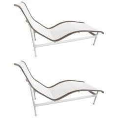 Pair of Richard Schultz Contour Lounge Chairs