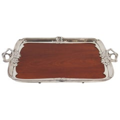 Art Nouveau Tray by Christofle Gallia