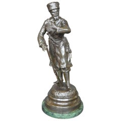 19th Century Russian Bronze Sculpture