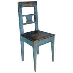 Charming Allmoge Chair, Origin Sweden, circa 1800