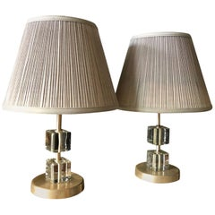 Pair of Scandinavian Midcentury Table Lamps