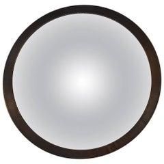 Convex Brass Mirror