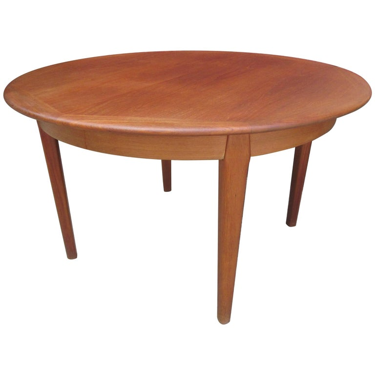 Danish Teak Dining Table by Falster