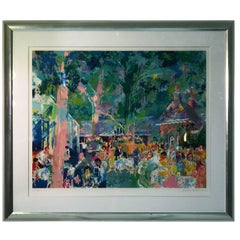 Tavern On The Green Serigraph By Leroy Neiman