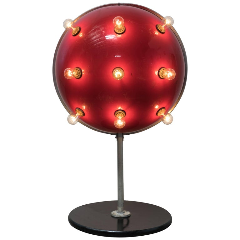 Carnival Midway Flashing Sputnik Light For Sale