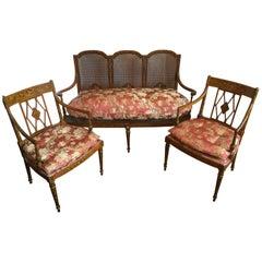 Museum Quality Italian 18th Century Salon Set
