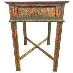 Chinoiserie Decorated End Table by South Hampton Furniture
