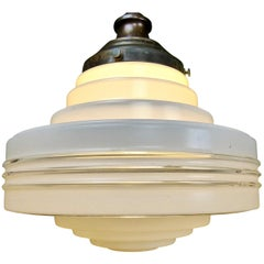 Antique Banded Circular Ceiling Pendant Lights