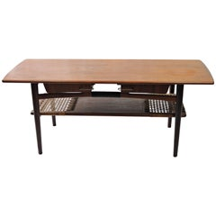 1950s Danish Coffee Table in Teak
